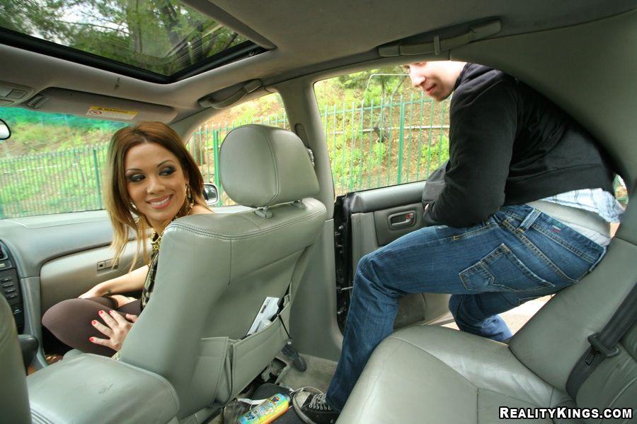 Chica Chica autostopista