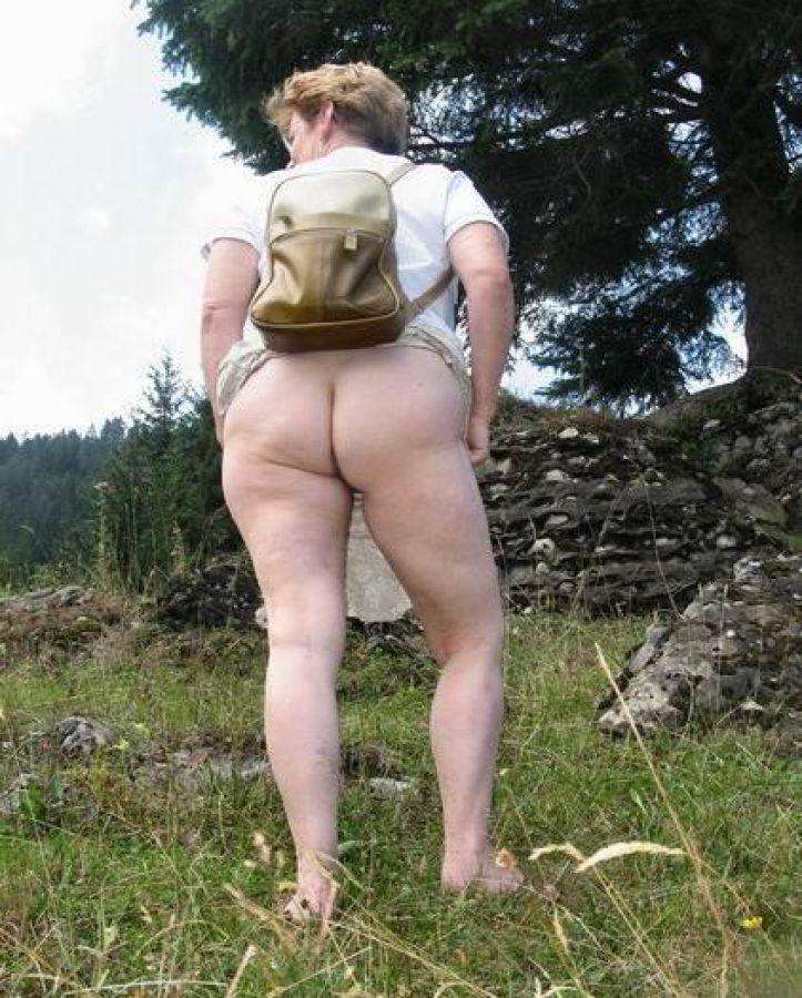 Foto de vacaciones desnuda presentada